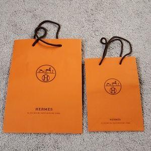 Hermes paper bags
